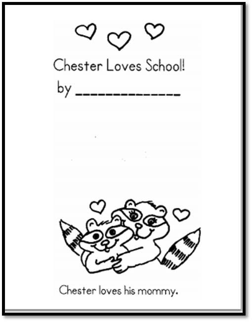 Chester Goes to School Book | A to Z Teacher Stuff Printable Pages and…