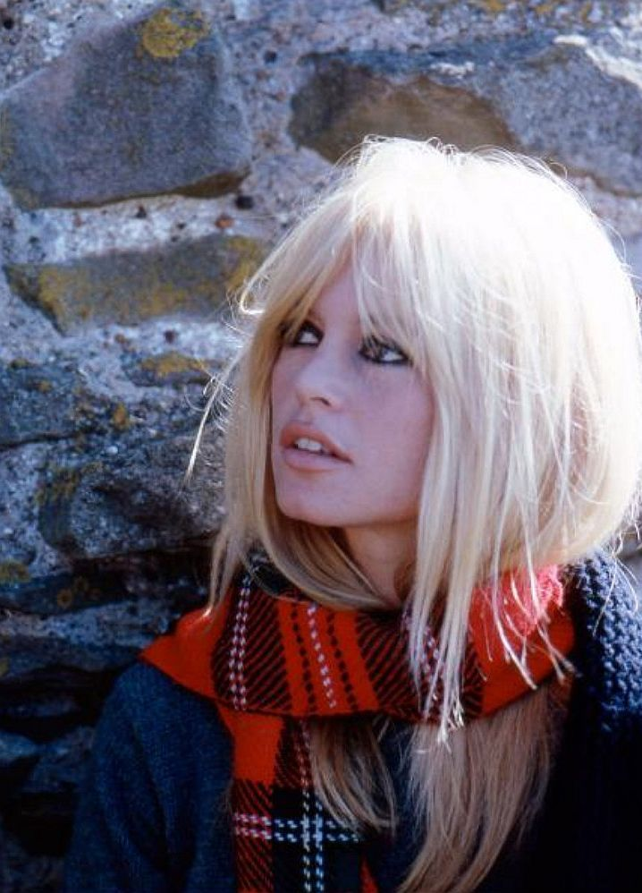 "Brigitte Bardot on the set of ""Two Weeks in September"