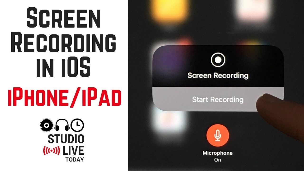 Complete beginner's guide to screen recording in iOS