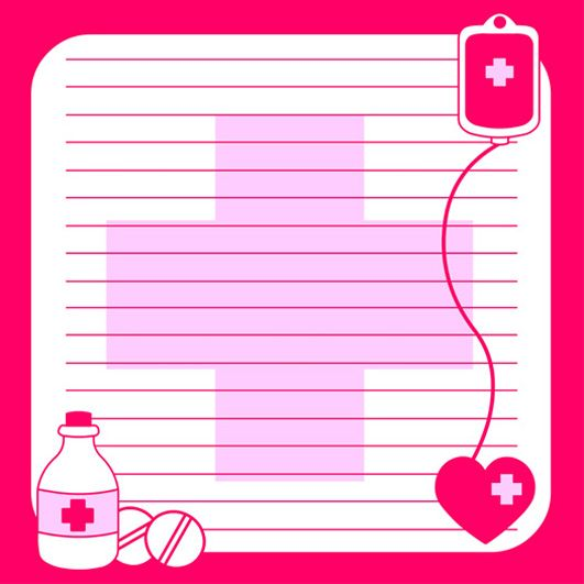 Medical Note Paper WRITING PAPER, CHECKLISTS, NOTES Pinterest - medical note