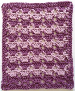 296 Lilac Lace Crochet Dishcloth – Maggie Weldon Maggies Crochet