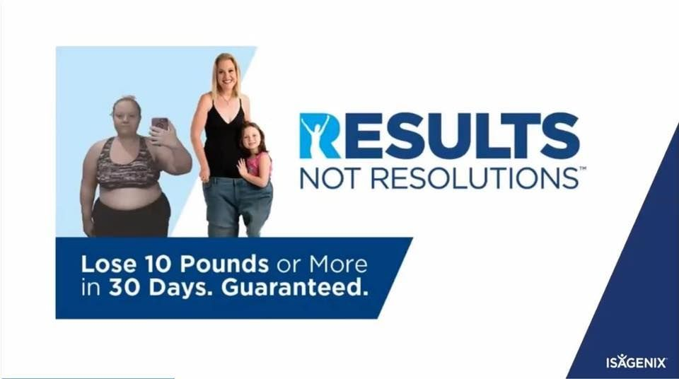 Order The Isagenix Cleanse 30 Day Weight Loss Program And Join The