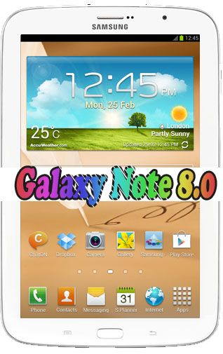 Official Update for Galaxy Note 8.0 GT-N5110 with Jellybean 4.2.2