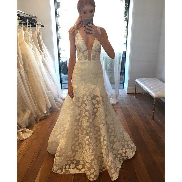 New York Bridal Fashion Week Show 2016 Collection Designer Gown Catwalk Runway