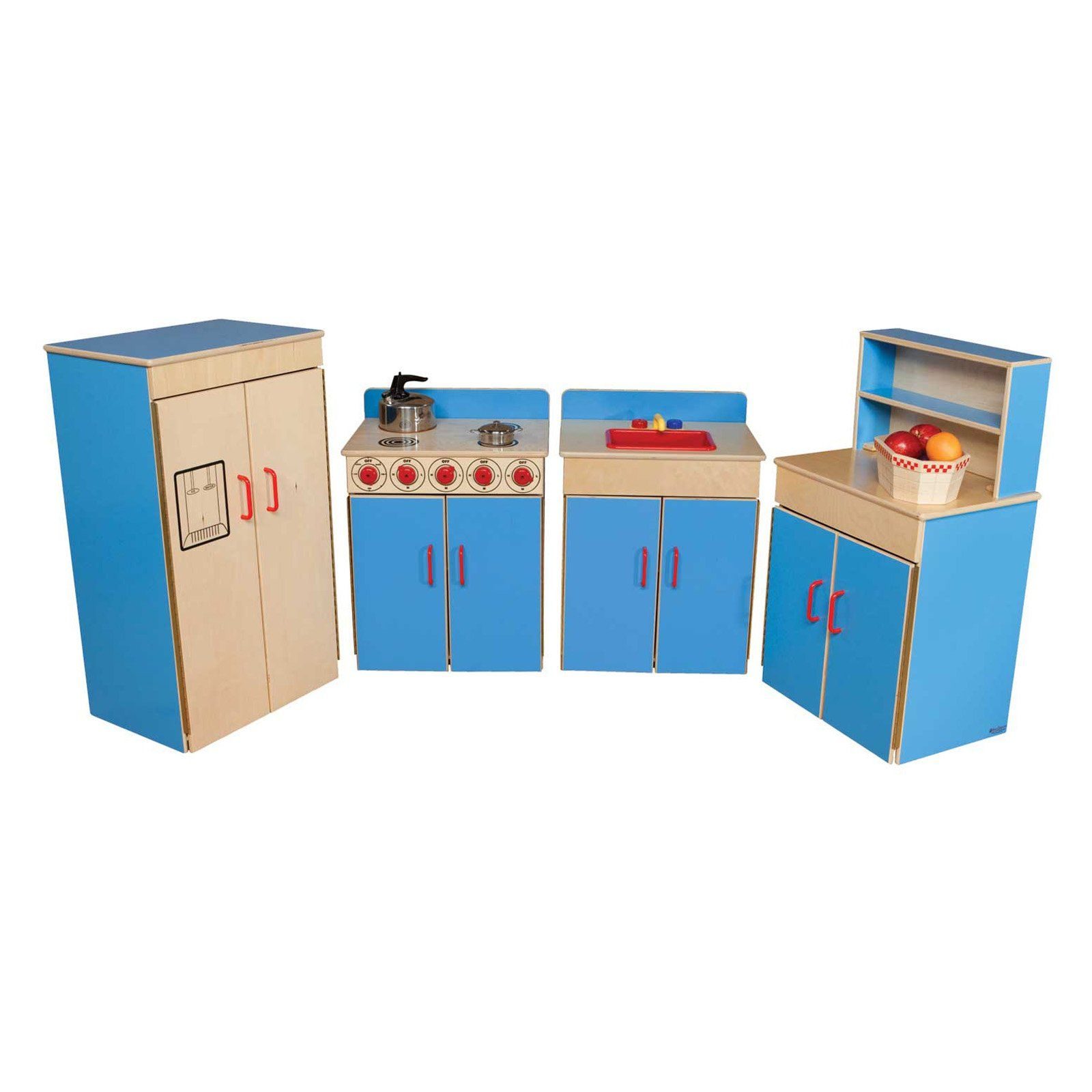 Wood Designs Classic 4 Piece Play Kitchen Set 679 99