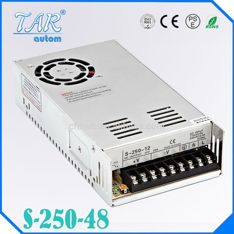 48V 3 2A 250W Switching switch Power Supply For Led Strip