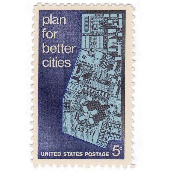 Qty of 10  1967 Unused Vintage Postage by vintagepostageshop, $3.25