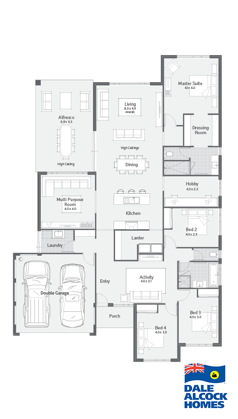 New home design perth leighton  dale alcock homes bedroom house plans also idee huisjes rh sk pinterest