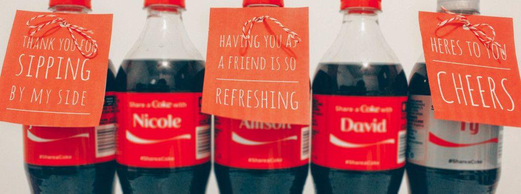 Share A Coke Printable's