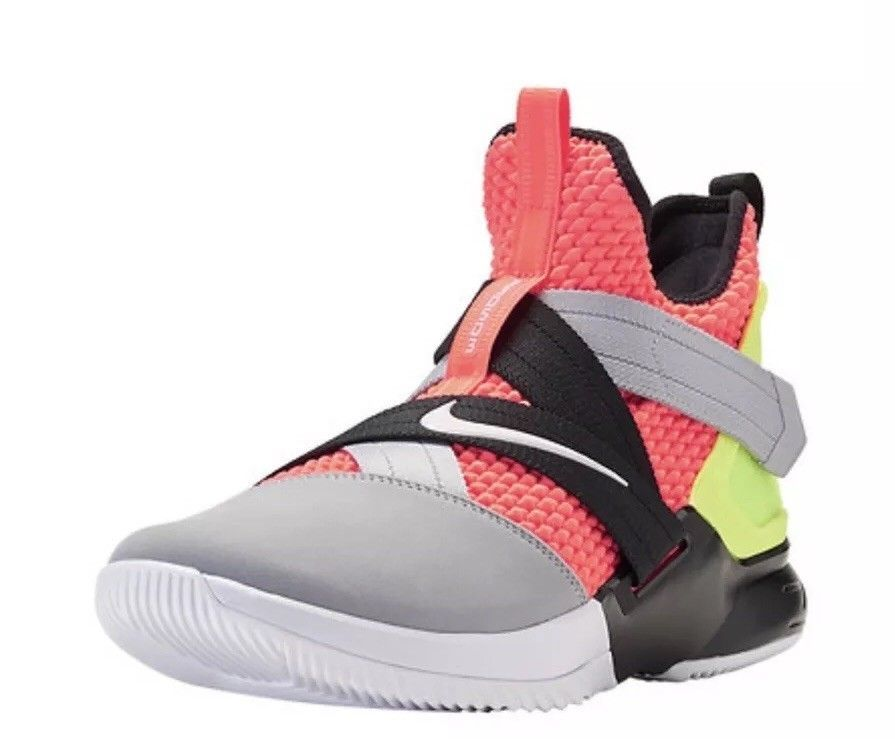 lowest price c0037 97163 Nike Lebron Soldier XII 12 SFG Multi-Color Hot Lava/Black ...