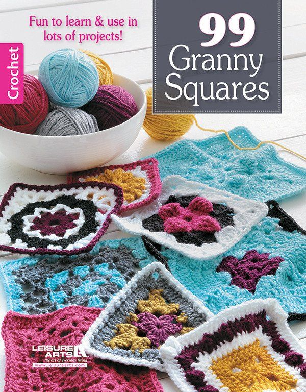 Take A Creative Journey Beyond The Basic Granny Square The Motifs