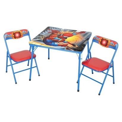 Table And Chair Spiderman On Target Com Kids Folding Chair Rent