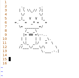 ASCII Art Fox by pablothefox on deviantART Ascii art