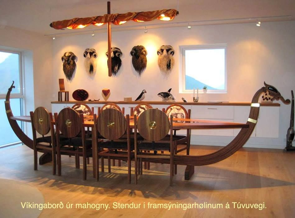 Viking Dining Table Viking House Dining Furniture Makeover