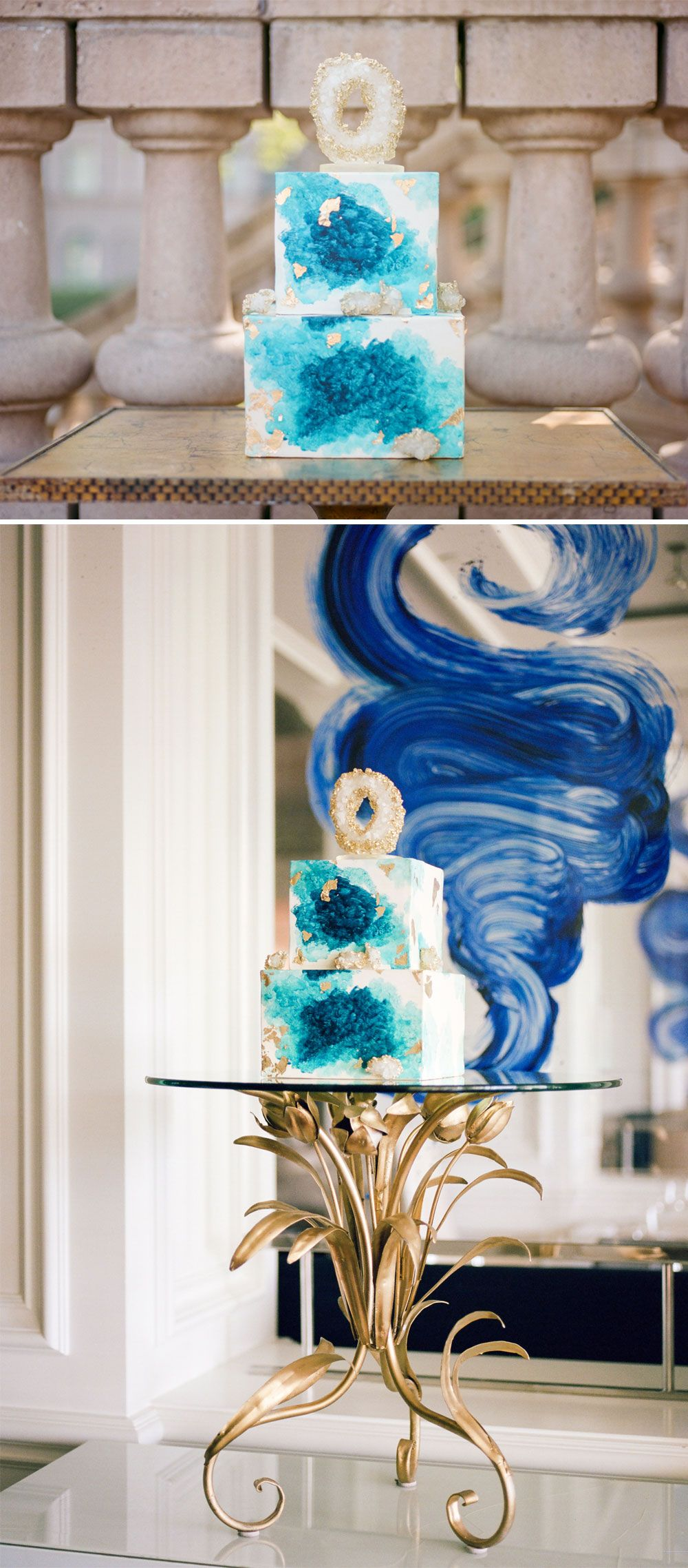 9 unbelievable geode wedding cakes that will amaze you