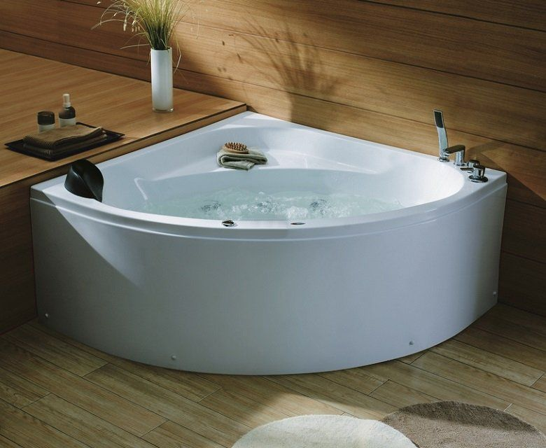 Cindy - corner spa bath | Ensuite | Pinterest