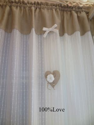 Tende Salotto Country.100 Love Tende Country Shabby Cortinas Cojines