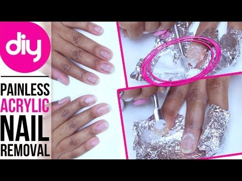 How To Remove Acrylic Nails Without Damaging Your Real Nails Youtube Remove Acrylic Nails Diy Acrylic Nails Acrylic Nail Kit