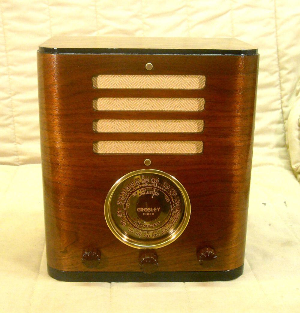 Kadette radio philco vintage radio. clock tube