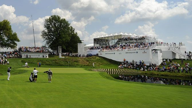 Temporary Event Structure At The Bmw Golf Championships In Crooked Stick Indiana Www Condit Com Temporary Structures Bmw Golf Temporary Structures Americas Cup