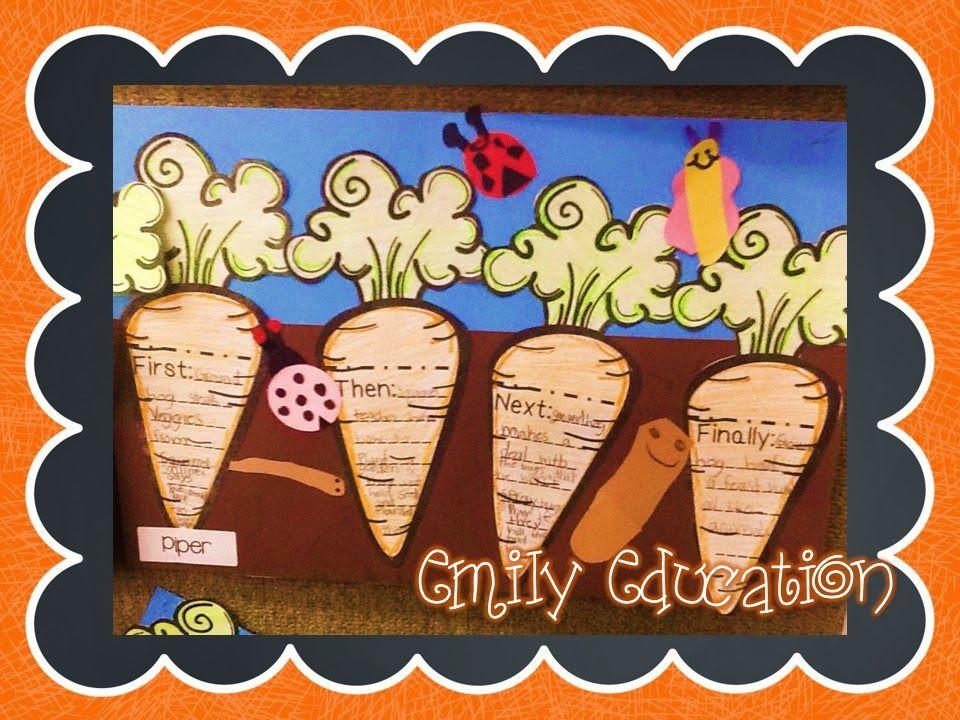 How Groundhog 39 S Garden Grew Language Arts Sequencing Activities And Readers Workshop
