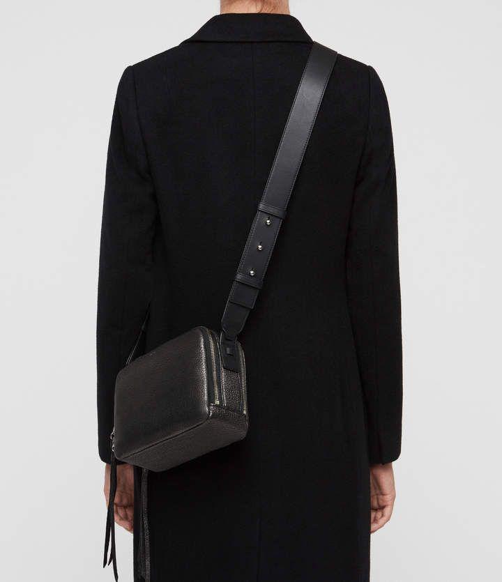 8f7cab2f8 AllSaints Vincent Leather Crossbody Bag | Autumn/winter 18 | Leather ...