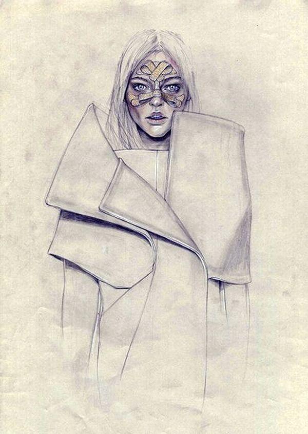 Beautiful Illustration by Cedric Rivrain