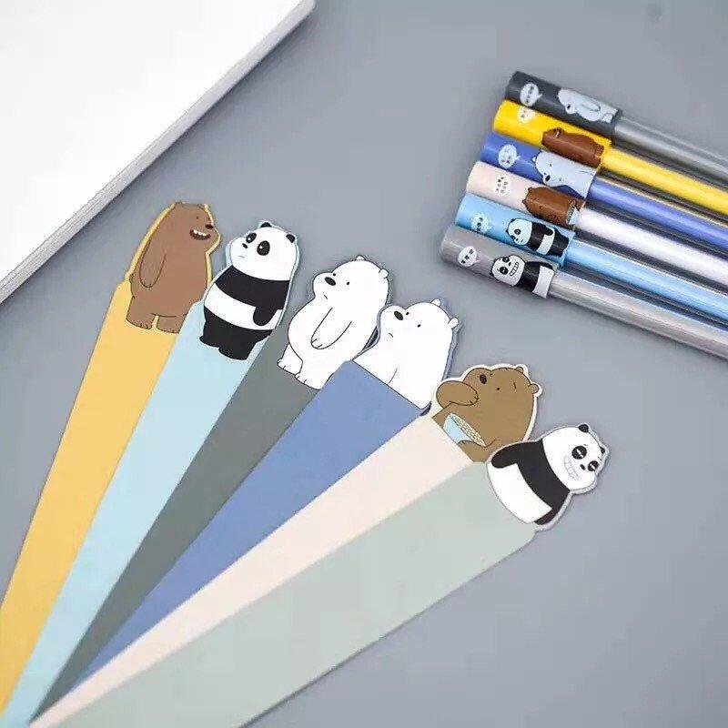 We Bare Bears Series 3 Gel Pen .5mm Black P5864W #bears
