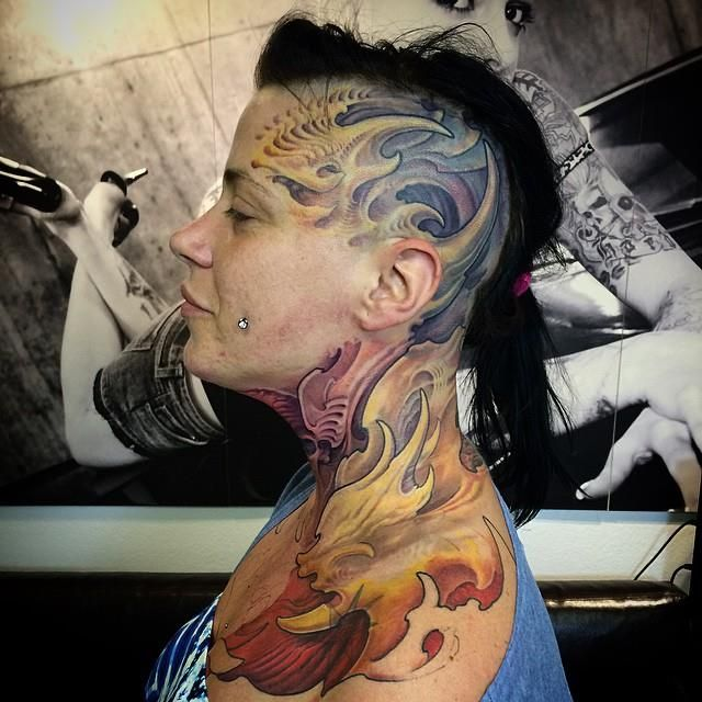 Best 25 Badass Tattoos Ideas On Pinterest: Badass Tattoo On A Bold Girl By Benedek György!