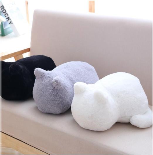 Creative Fish Shape Throw Pillow Bedroom Soft Plush Stuffed Toy Home Decor