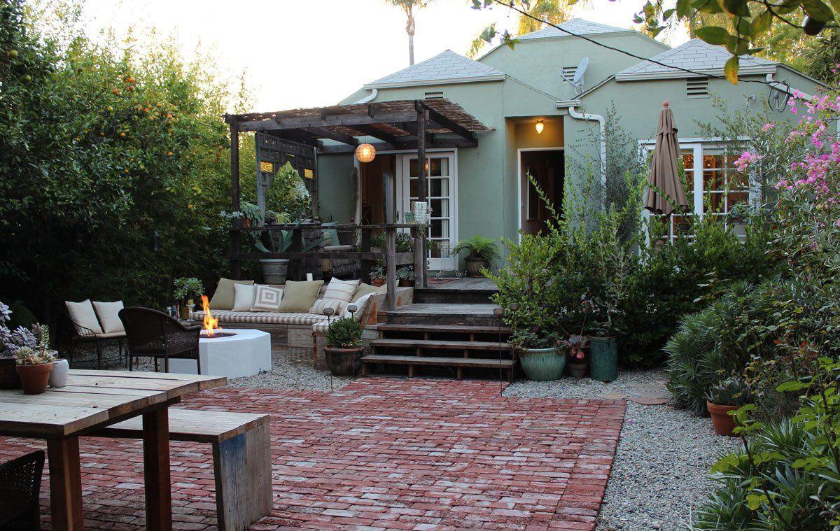 Heather & Alex's Nostalgic Cottage in the City | Outside | Pinterest