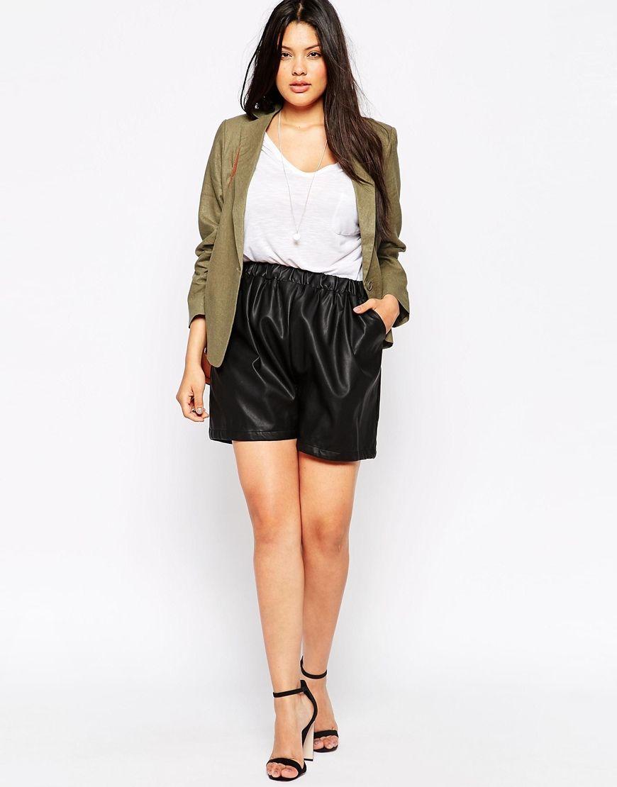 Image 4 ofASOS CURVE Linen Tailored Blazer