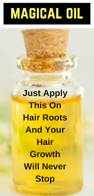 Just Apply This On Hair Roots And Your Hair Growth Will Never Stop