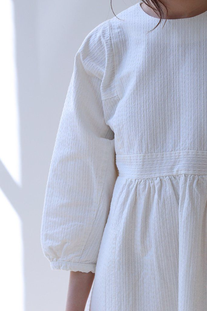 bacac4570a7f Cosmic Wonder White Sashiko Dress. Love the simplicity and artistry of this.