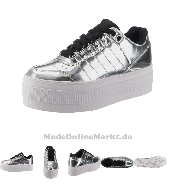 00888758266035 | #K-SWISS #Damen #Sneakers #Gstaad #Platform #silber