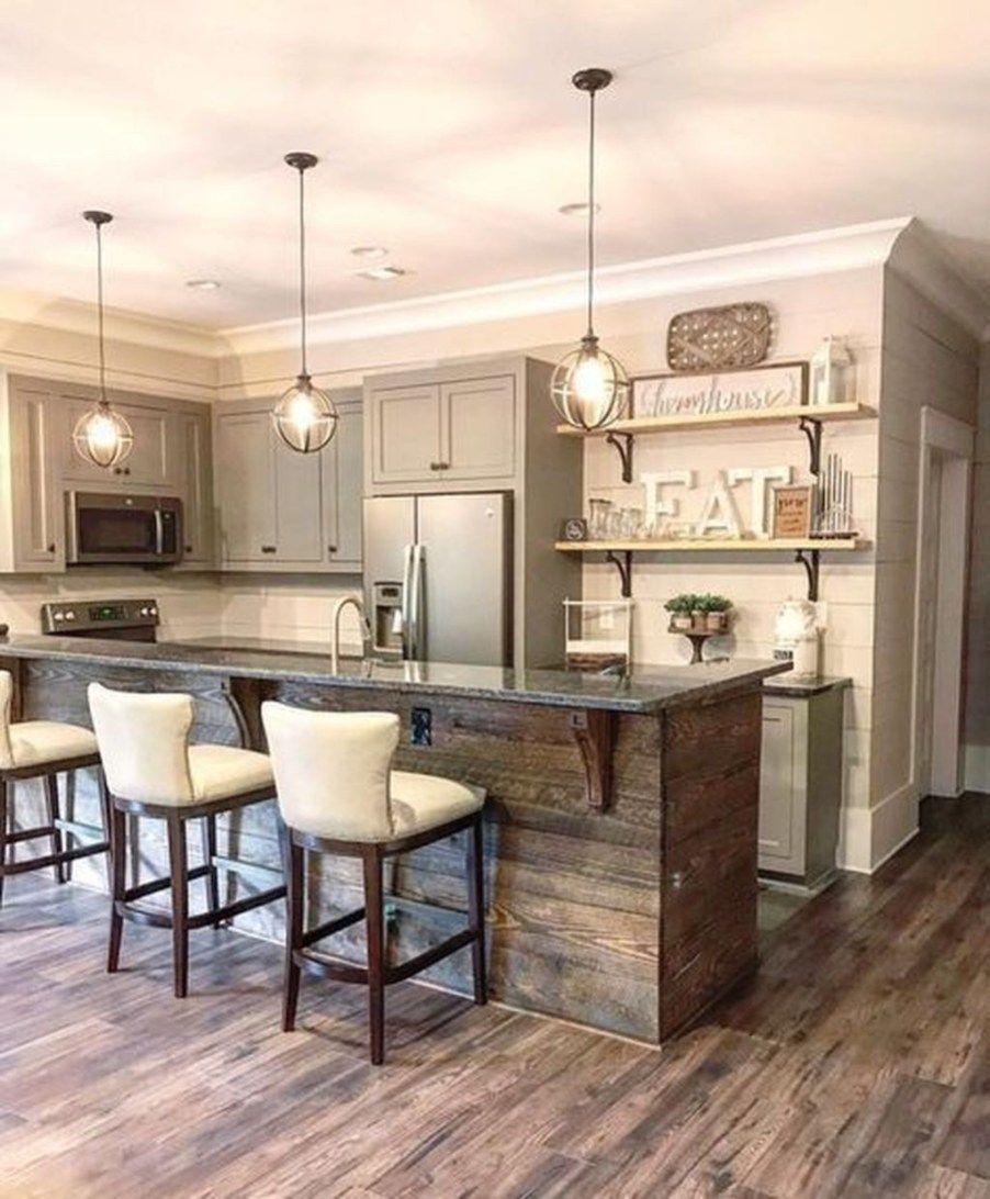 Cute Farmhouse Kitchen Remodel Ideas 35 #kitchenremodelideas