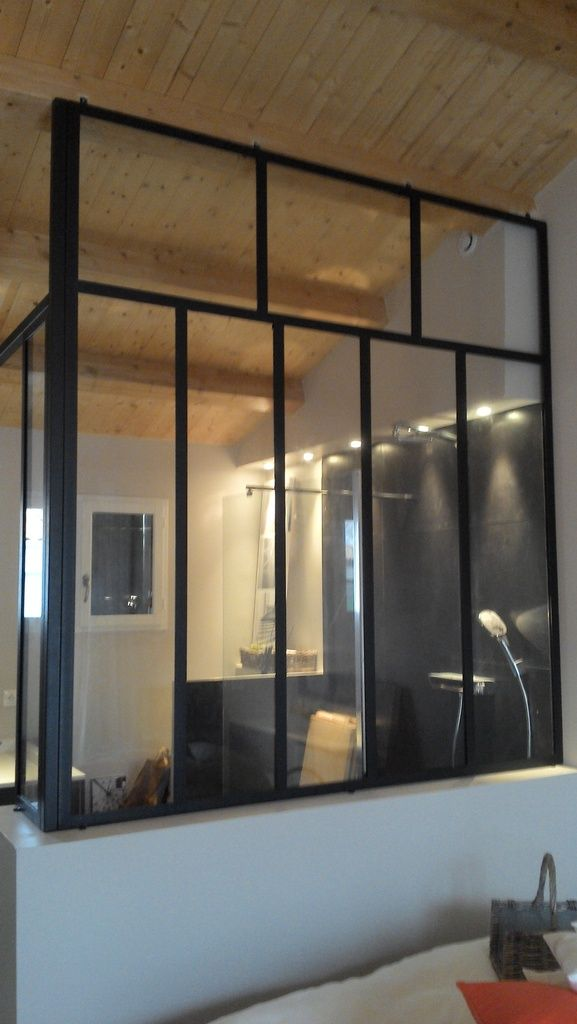 Verrières et portes styles  - porte coulissante style atelier