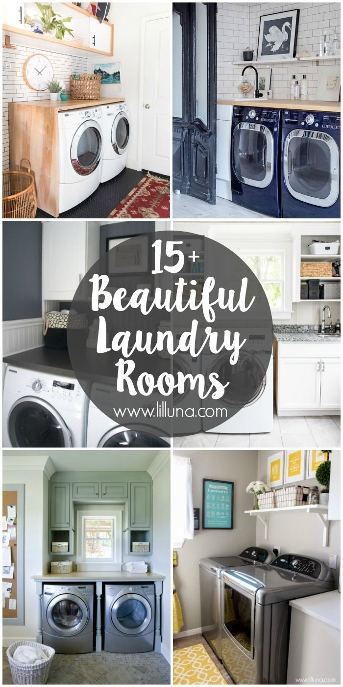 Design Your Own Laundry Room: 15+ Beautiful Laundry Rooms