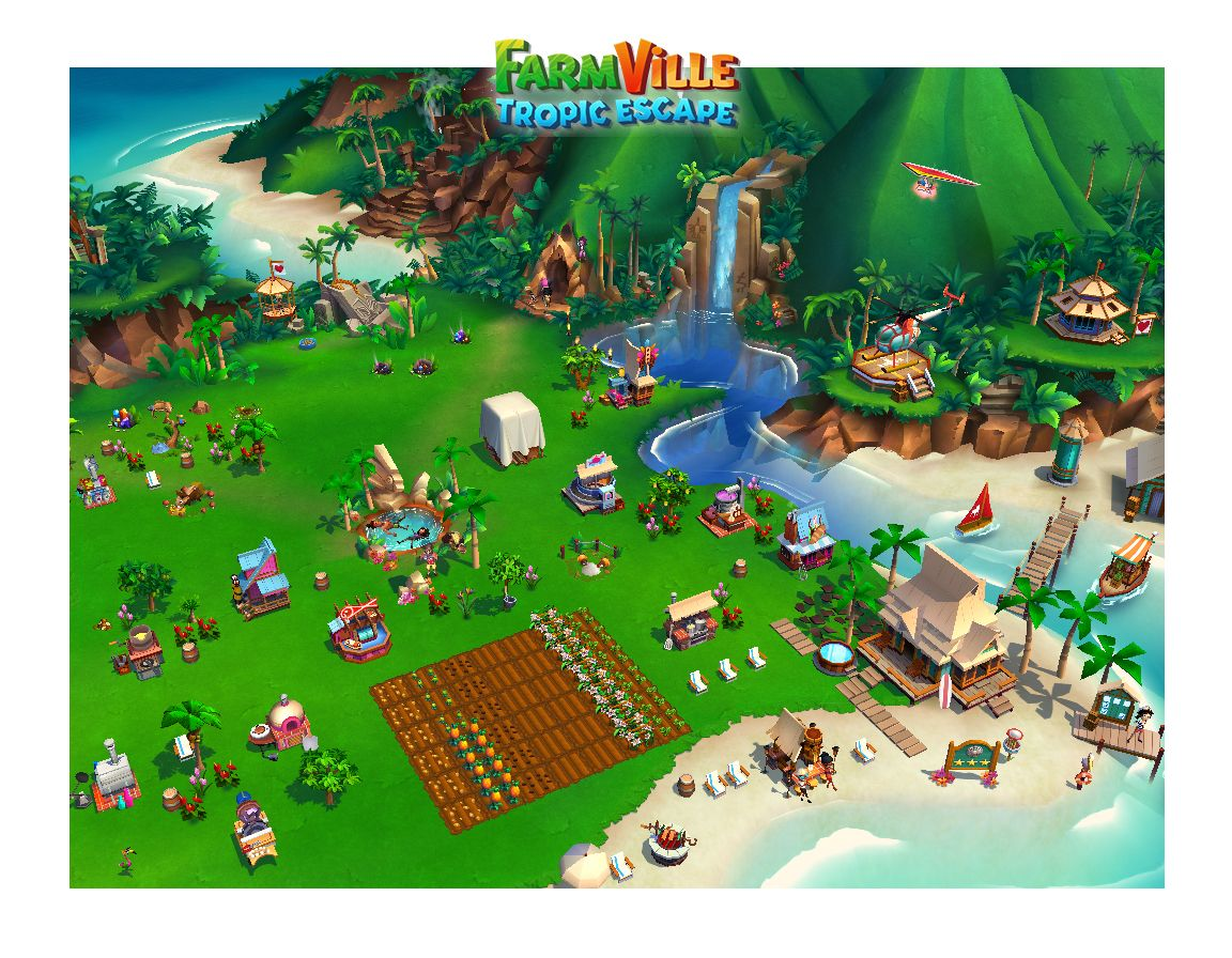 Check Out My Private Paradise In Farmville Tropic Escape Http Zynga My Island Game Pictures Tropical Escape Tropic Escape