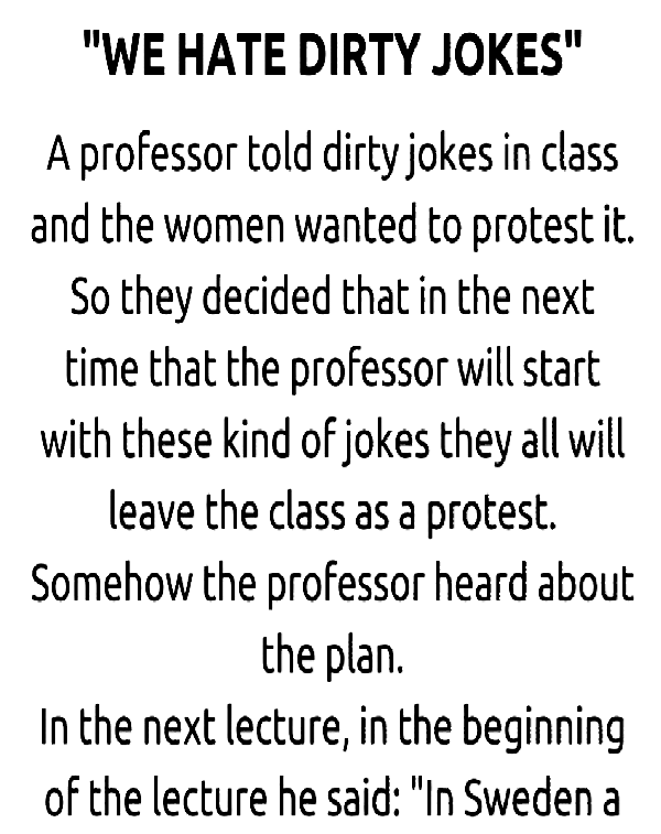 Women And Professor Joke Relationship Jokes Dark Humor Jokes Dark Jokes