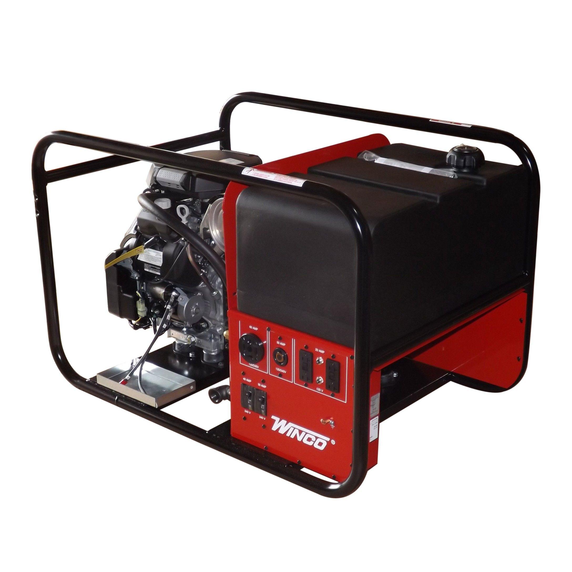 HPS12000HE Honda Powered Tri Fuel 12000 Generator