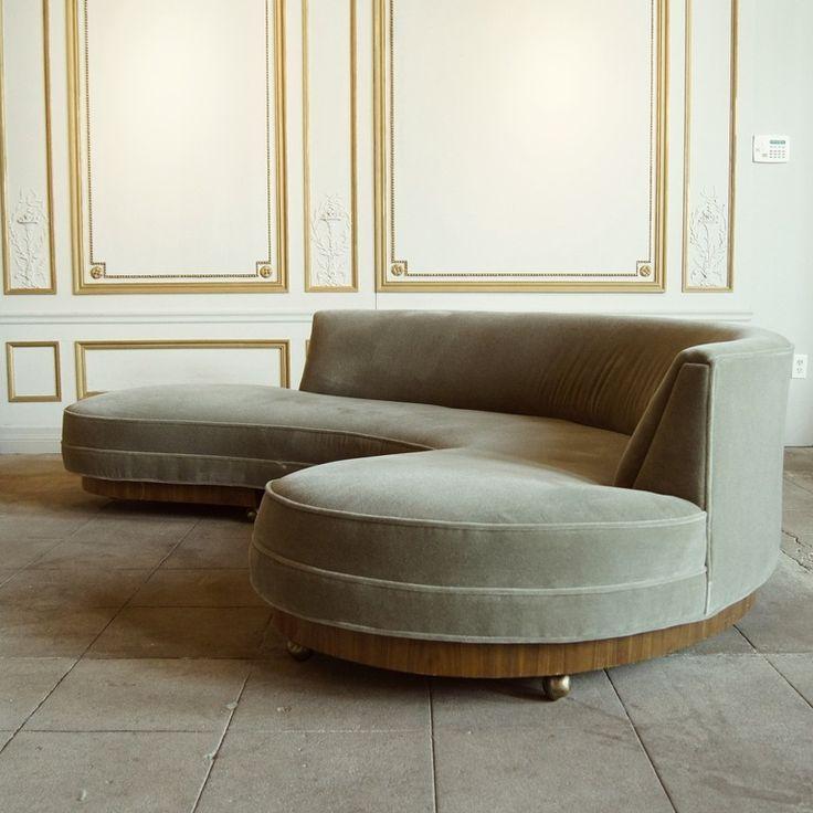 Early Vladimir Kagan Sofa Circa 1950 1stdibs Com Modern Sofa