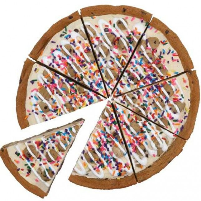 YASSS! Ice Cream Pizzas are back!