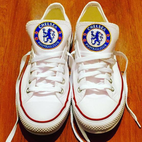 3c822722d Customized Converse Sneakers-Chelsea FC Edition – Monogram Eye Candy