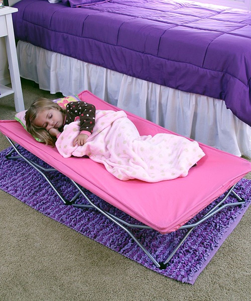 Regalo My Cot Portable Travel Bed Pink 25