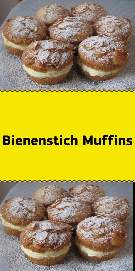 Bienenstich Muffins #rührteiggrundrezept