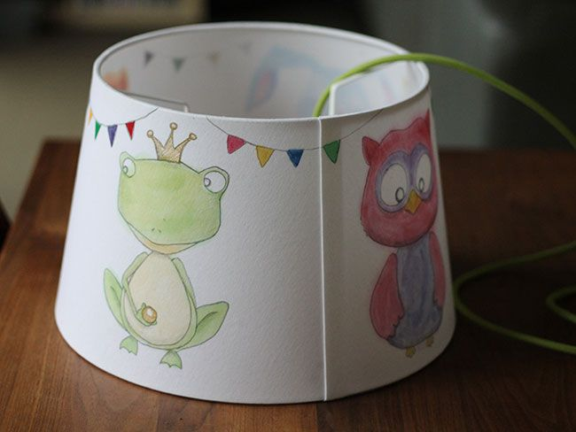 Kinderzimmerlampe, Lampe für Kinder | DIY | Pinterest | {Kinderzimmerlampe 38}