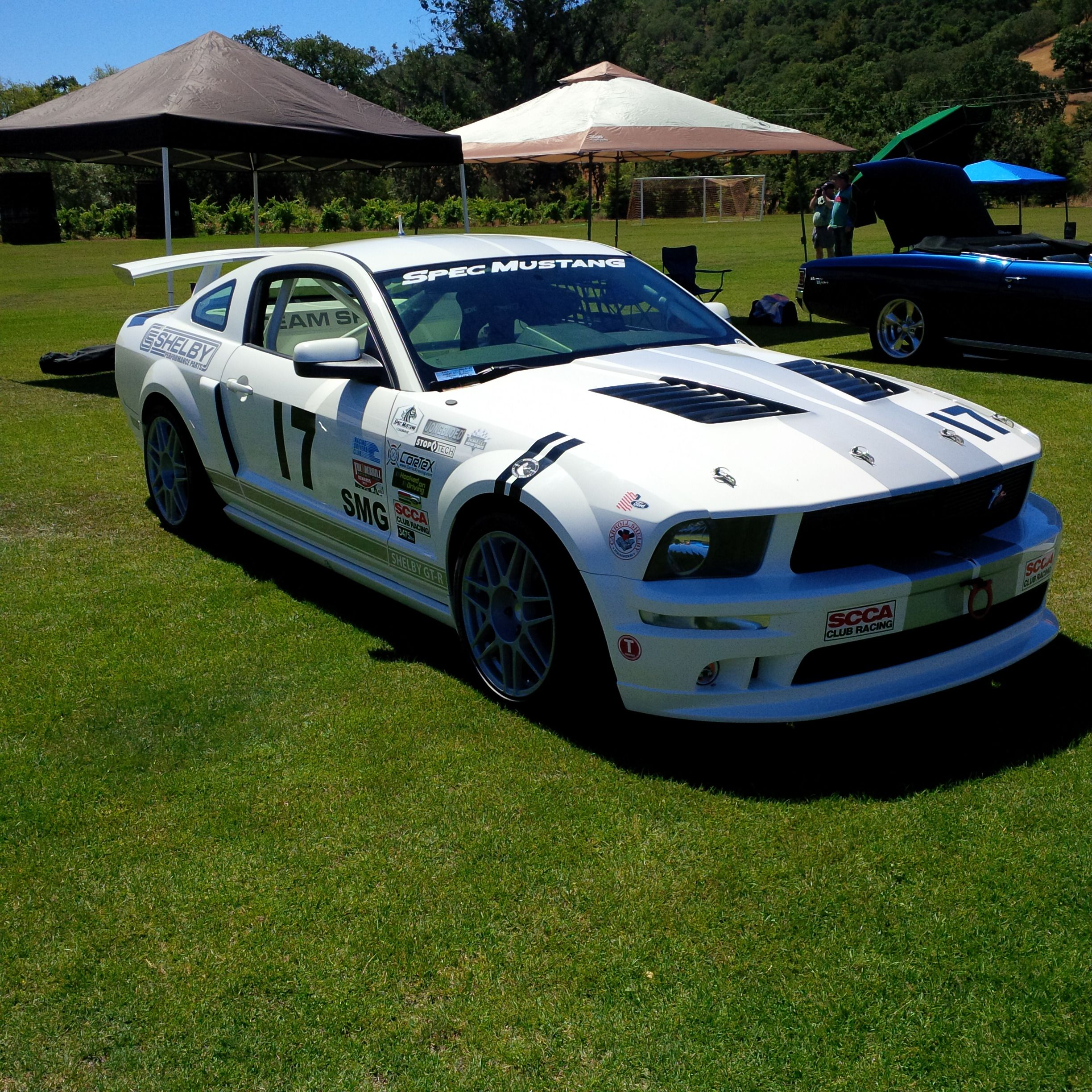 I ran into an old friend yesterday at a car show , he\'s got a nice ...