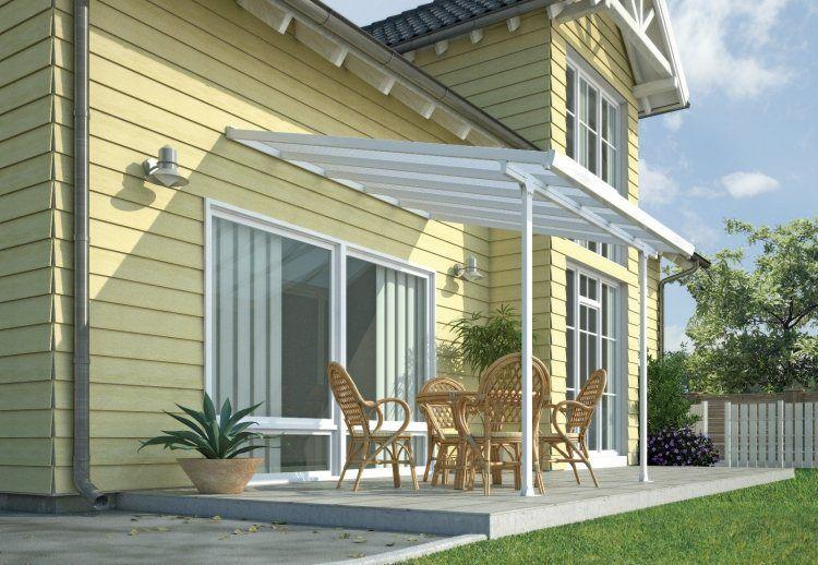 Toiture transparente pour terrasse avec cadre en aluminium Searching