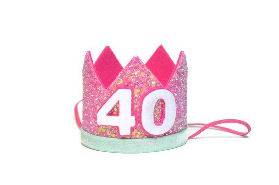 40th Birthday Party Hat